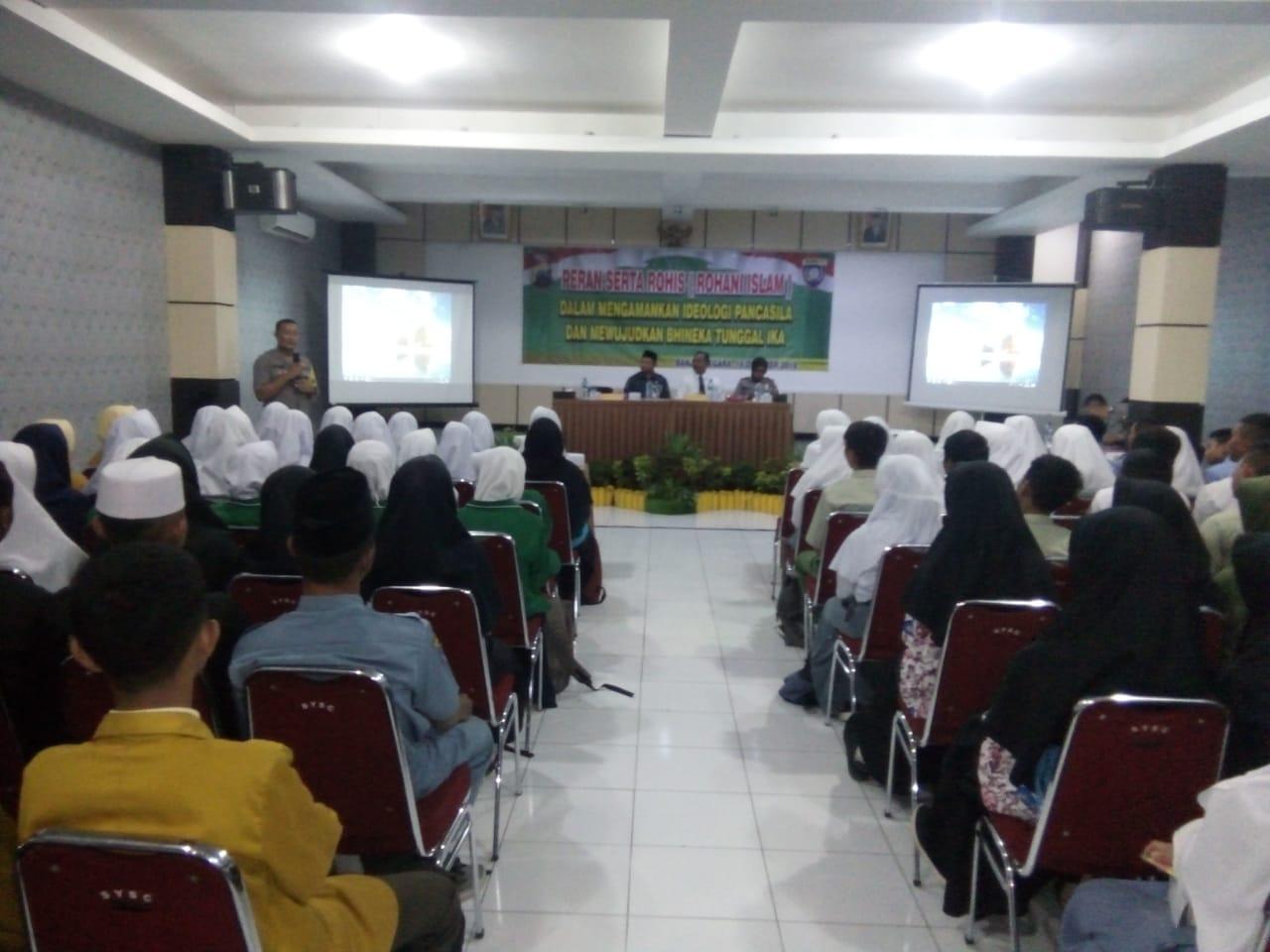 Polres Banjarnegara Ajak Rohis Pelajar Jaga Indonesia Damai