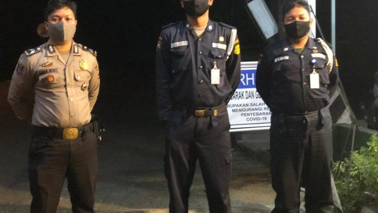 Jaga Kondusifitas Wilayah, Polsek Bawang Lakukan Patroli