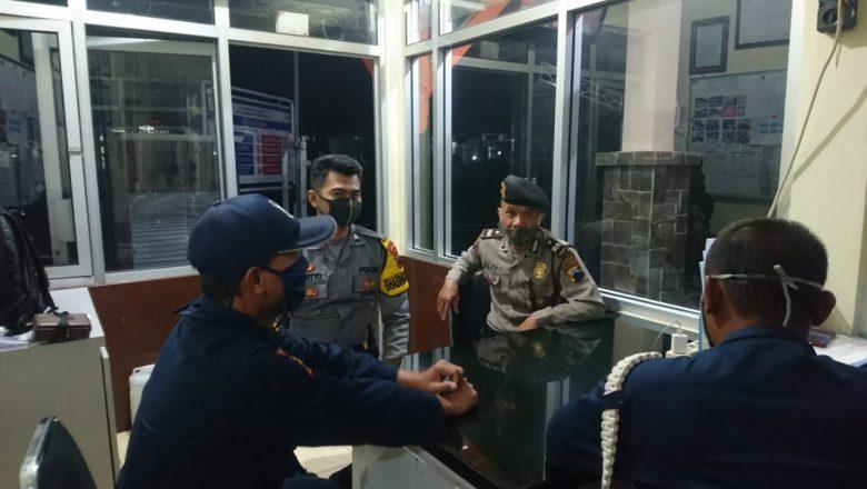 Tingkatkan Kedisiplinan Masyarakat Polsek Bawang Giatkan Patroli