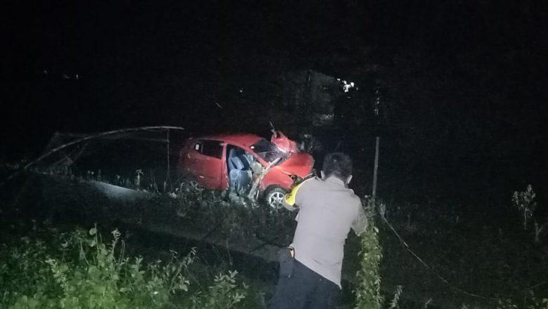 Terjadi Kecelakaan Kereta Api dengan Sebuah Mobil di Grobogan