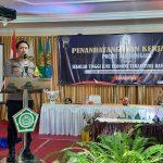 STIE Tamansiswa Banjarnegara Jalin Kerjasama Perkuat Sarsipol, Kapolres: Jika Sudah Bergabung Sarsipol Siap Lakukan Tindakan Sosial