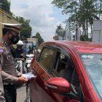Polres Banjarnegara Bagi Masker Gratis Bantu Kebutuhan Masker Masyarakat