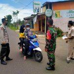 Sosialisasi Prokes dan Bagi Masker Cegah Penyebaran Covid-19 Terus dilakukan Polres Banjarnegara