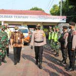 Polres Banjarnegara Lakukan Gelar Pasukan Persiapan Pengamanan Hari Raya Idul Fitri 1442 Hijriyah