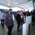 Tinjau Arus Mudik di Bandara Soetta, Kapolri Minta Perketat Pengawasan Warga dari Luar Negeri