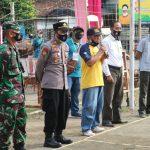 Pastikan Keamanan Turnamen Bola Voli di Desa Pagelak Madukara, Polres Banjarnegara Lakukan Pengamanan dan Pengecekan Protokol Kesehatan