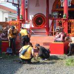 HUT Bhayangkara Ke-75 Polres Banjarnegara Gelar Kerja Bakti Tempat Ibadah Secara Serentak
